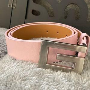 Pink Guess belt size Medium
